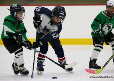 SilverPeak Studios Berkshire Thanksgiving Classic Mite Jamboree Hockey Photo Franklin Huskies