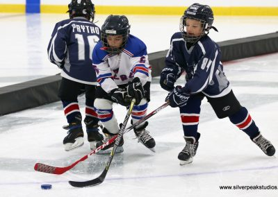 SilverPeak Studios Berkshire Thanksgiving Classic Mite Jamboree Photo Amherst Huskies Hockey