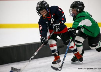 SilverPeak Studios Berkshire Thanksgiving Classic Mite Jamboree Photo Capitals vs Franklin Hockey