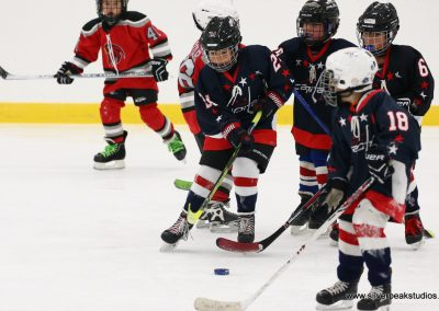 SilverPeak Studios Berkshire Thanksgiving Classic Mite Jamboree Photo Capitals vs Hawks Hockey