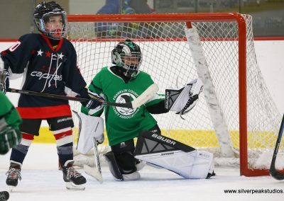 SilverPeak Studios Berkshire Thanksgiving Classic Mite Jamboree Photo Franklin County Hockey Goalie