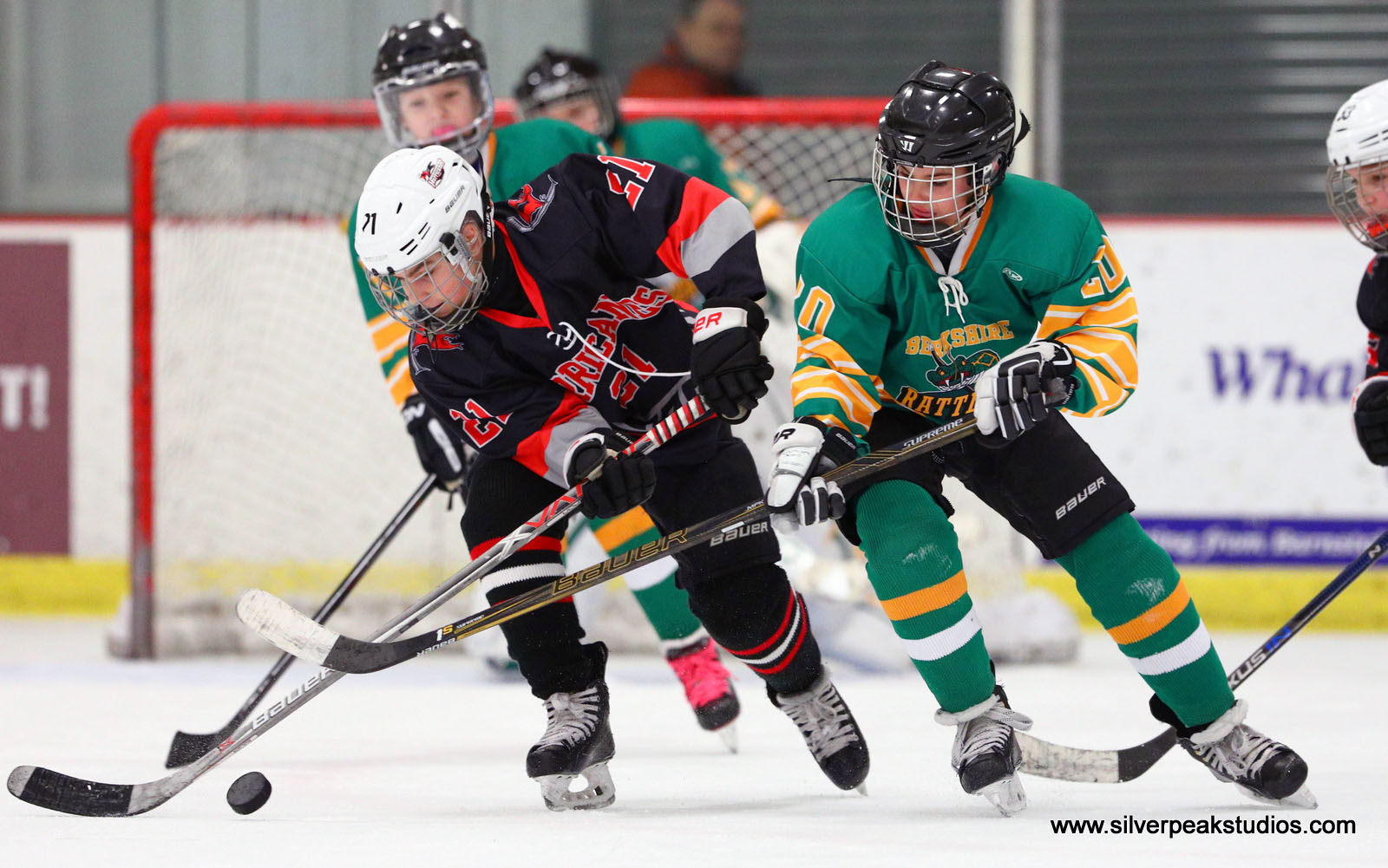 SilverPeak Studios Berkshire Rattlers Hockey Action Photo 12