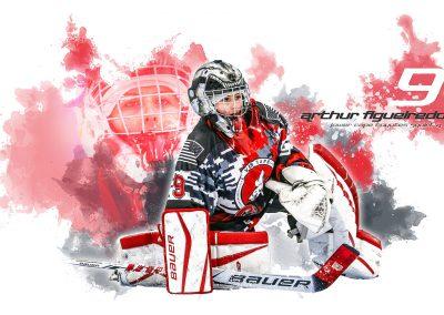 SilverPeak-Studios-Paint-Spatter-Hockey-Poster-Painting-Artwork-Sportrait-Coyotes