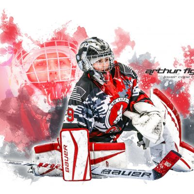 Lower Cape Coyotes Hockey Squirt Goalie
