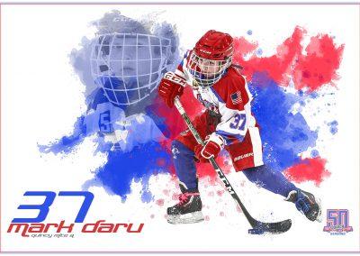 SilverPeak-Studios-Paint-Spatter-Hockey-Poster-Painting-Artwork-Sportrait-Quincy