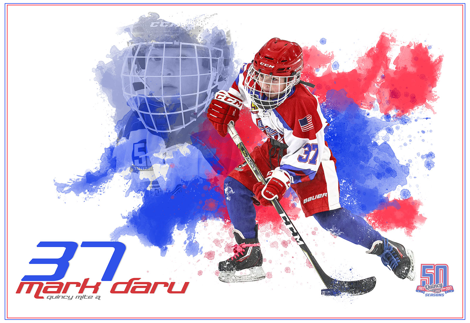 SilverPeak-Studios-Paint-Spatter-Hockey-Poster-Painting-Artwork-Sportrait-Quincy