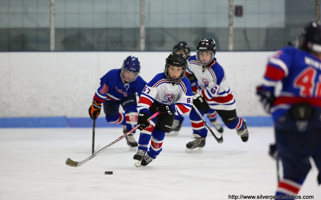 Plymouth Youth Hockey – Peewee A vs B Super Skills Competition and Intramural Hockey Game