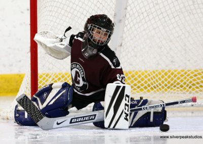 SilverPeak Studios Turkey Day Classic Hockey Tournament Chelmsford Goalie Save