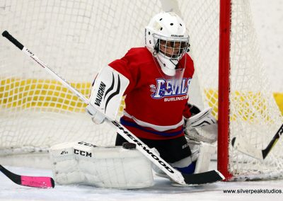 SilverPeak Studios Turkey Day Classic Hockey Tournament Devils Goalie