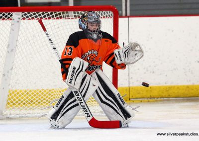 SilverPeak Studios Turkey Day Classic Hockey Tournament Woburn Goalie