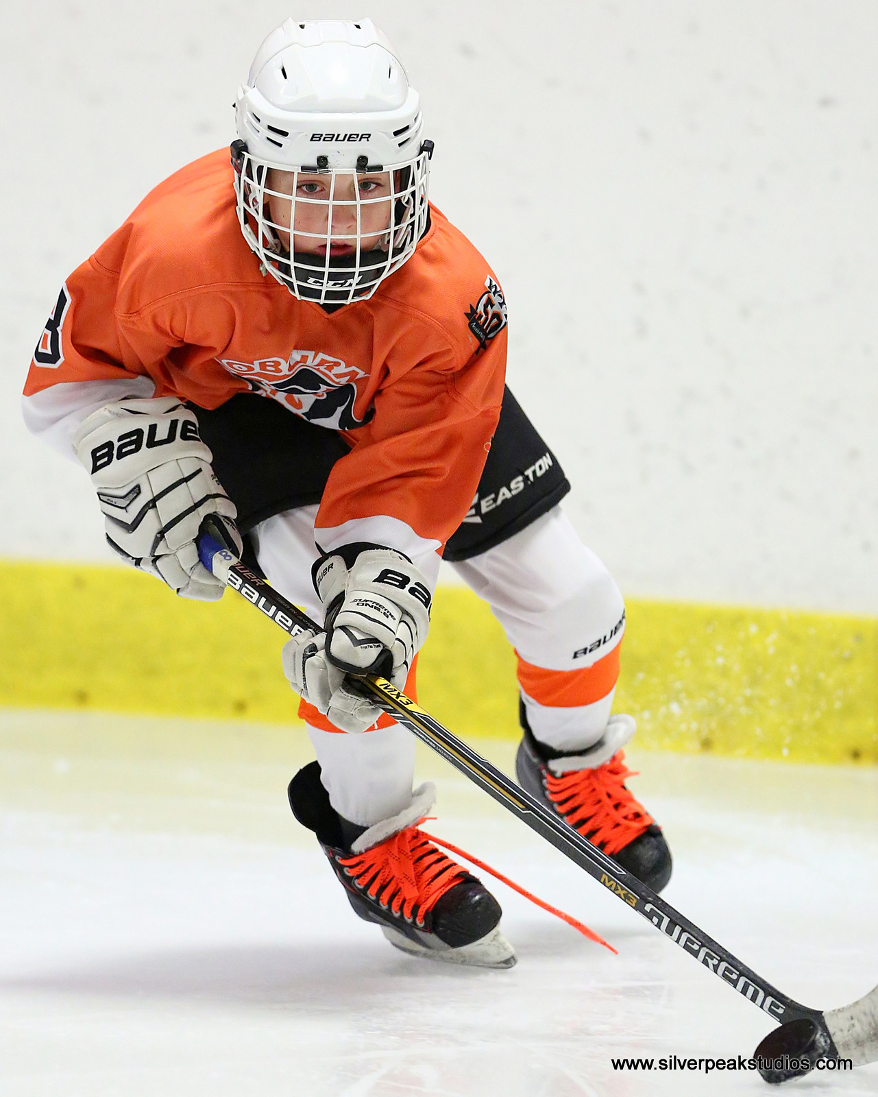 SilverPeak Studios Action Sports Hockey Squirt Photography Woburn