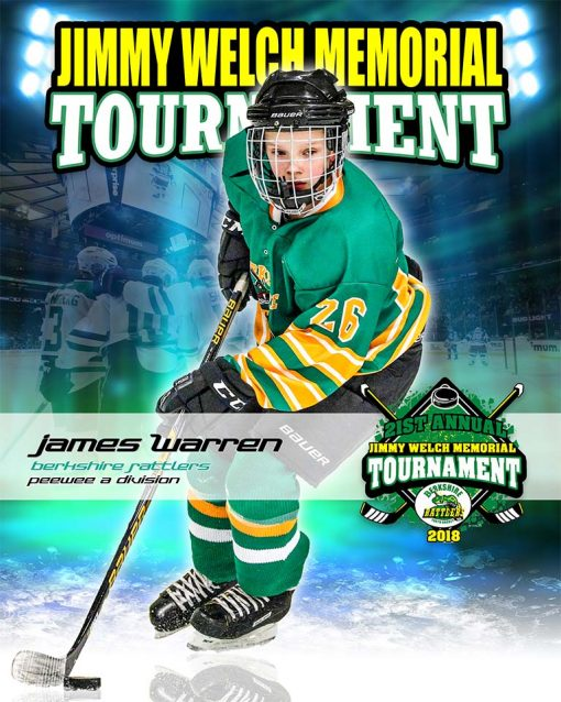 Jimmy Welch Tournament Commemorative Poster
