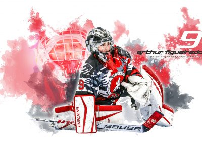 SilverPeak-Studios-Paint-Spatter-Hockey-Poster-Painting-Artwork-Sportrait-Coyotes
