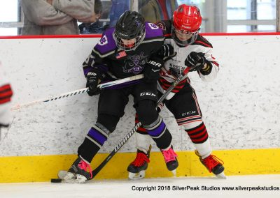 SilverPeak Studios Warrior Cup 2018 Game Highlight Photo Action Shots Hockey WAR_0091 Northern Cyclones vs Jr Crusaders Peewee A