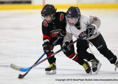 SilverPeak Studios Warrior Cup 2018 Game Highlight Photo Action Shots Hockey WAR_0466 Westfield Jr Bombers vs Dedham Squirt A