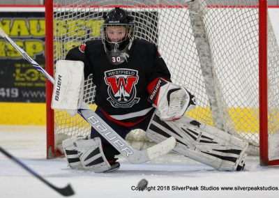 SilverPeak Studios Warrior Cup 2018 Game Highlight Photo Action Shots Hockey WAR_0675 Westfield Jr Bombers vs Dedham Squirt A