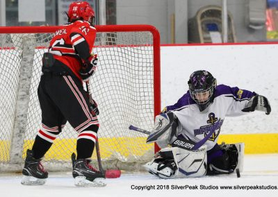 SilverPeak Studios Warrior Cup 2018 Game Highlight Photo Action Shots Hockey WAR_2480 Northern Cyclones vs Marthas Vineyard Peewee A
