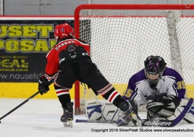 SilverPeak Studios Warrior Cup 2018 Game Highlight Photo Action Shots Hockey WAR_2725 Northern Cyclones vs Marthas Vineyard Peewee A