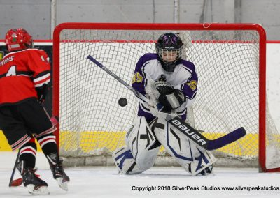 SilverPeak Studios Warrior Cup 2018 Game Highlight Photo Action Shots Hockey WAR_2735 Northern Cyclones vs Marthas Vineyard Peewee A
