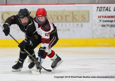 SilverPeak Studios Warrior Cup 2018 Game Highlight Photo Action Shots Hockey WAR_5684 Northern Cyclones vs Dedham Peewee A Championship