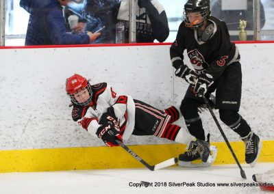 SilverPeak Studios Warrior Cup 2018 Game Highlight Photo Action Shots Hockey WAR_5945 Northern Cyclones vs Dedham Peewee A Championship