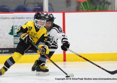 SilverPeak Studios Warrior Cup 2018 Game Highlight Photo Action Shots Hockey WAR_7517 Conquistador vs Chelmsford Peewee B