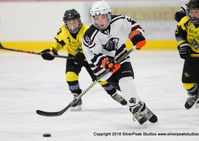 SilverPeak Studios Warrior Cup 2018 Game Highlight Photo Action Shots Hockey WAR_7751 Conquistador vs Chelmsford Peewee B