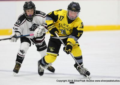 SilverPeak Studios Warrior Cup 2018 Game Highlight Photo Action Shots Hockey WAR_7919 Conquistador vs Chelmsford Peewee B