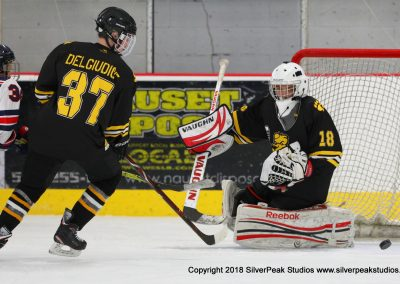 SilverPeak Studios Warrior Cup 2018 Game Highlight Photo Action Shots Hockey WAR_9423 Brewins vs Boston Jr Rangers Bantam A