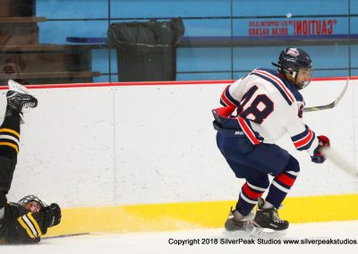 SilverPeak Studios Warrior Cup 2018 Game Highlight Photo Action Shots Hockey WAR_9584 Brewins vs Boston Jr Rangers Bantam A