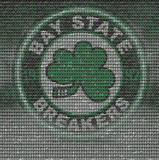 Baystate Breakers Mosaic Logo 8x8